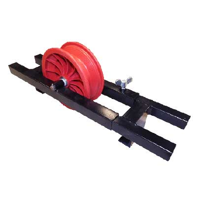 camera cable top roller